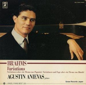 アグスティン・アニエヴァス - ブラームス:変奏曲集 - EAC-70085