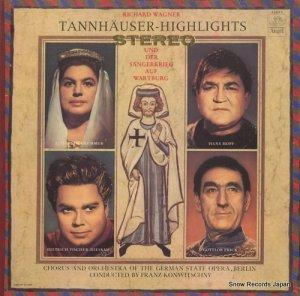 フランツ・コンヴィチュニー - wagner; tannhauser - highlights - ANGEL35685