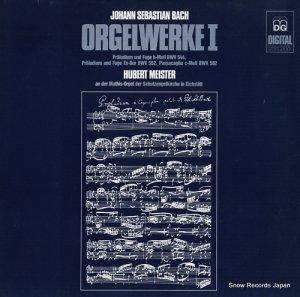 ヒューバート・マイスター - bach; orgelwerke i - MD+GG1084