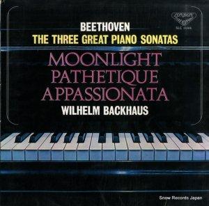 ウィルヘルム・バックハウス - ベートーヴェン:3大ピアノ奏鳴曲 - SLC1444