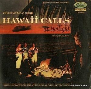 ハワイ・コールス・オーケストラ - たそがれにハワイは招く - LZC3004