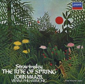 ロリン・マゼール - ストラヴィンスキー:バレエ音楽「春の祭典」 - L18C-5055