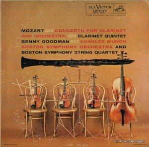 ベニー・グッドマン - mozart; concerto for clarinet and orchestra - LM2073