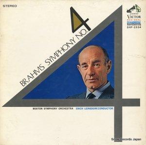 エーリッヒ・ラインスドルフ - ブラームス:交響曲第4番ホ短調作品98 - SHP-2534