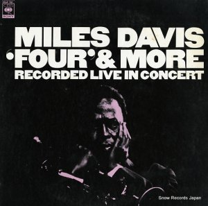 マイルス・デイビス - 'four' & more recorded live in concert - 25AP761