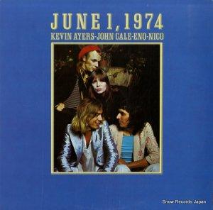 ケヴィン・エアーズ、ジョン・ケイル、イーノ、ニコ - june 1,1974 - ILPS9291