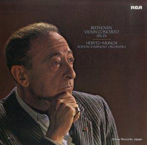 ヤッシャ・ハイフェッツ - beethoven; violin concerto (in d) - LSC1992