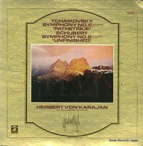 ヘルベルト・フォン・カラヤン - チャイコフスキー:交響曲第6番ヘ長調「悲愴」作品74 - AA-8220