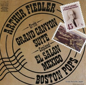 アーサー・フィードラー - grofe; grand canyon suite - AGL1-5245