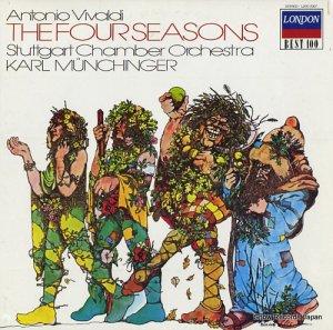 カール・ミュンヒンガー - ヴィヴァルディ:「四季」第1番ー第4番 - L20C-2007