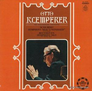 オットー・クレンペラー - シューベルト:交響曲第8番ロ短調「未完成」 - AA-8081