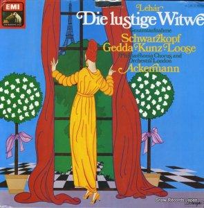 オットー・アッカーマン - lehar; die lustige witwe - 1C149-03116/17