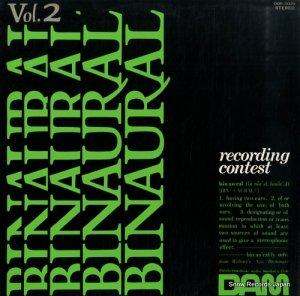 V/A - バイノーラル2・レコーディング・コンテスト - DOR-0029