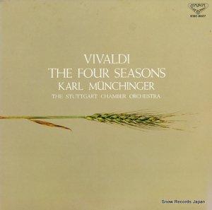 カール・ミュンヒンガー - ヴィヴァルディ:「四季」作品8の第1〜第4 - K15C8027