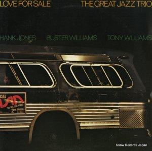 ザ・グレイト・ジャズ・トリオ - ラヴ・フォー・セール - 15PJ-1017
