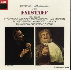ヘルベルト・フォン・カラヤン - verdi; falstaff - SLS5037