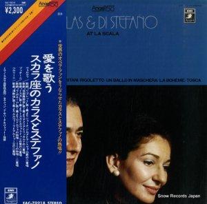 マリア・カラス&ジュゼッペ・ディ・ステファノ - 愛を歌う/スカラ座のカラスとステファノ - EAC-70218