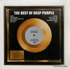 ディープ・パープル - the best of deep purple - CTN18010