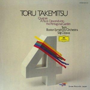 小澤征爾 - takemitsu toru; quatrain / a flock descends into the pentagonal garden - 2531210