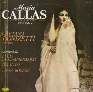 マリア・カラス - recital 2 - SM1279
