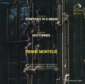ピエール・モントゥー - フランク:交響曲第5番 - SRA-2241