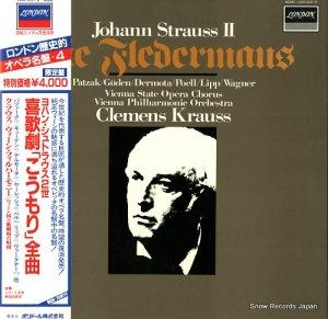 クレメンス・クラウス - j.シュトラウス2世:喜歌劇「こうもり」全曲 - L40C5337/8