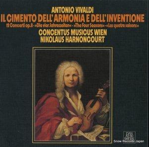 ニコラウス・アーノンクール - ヴィヴァルディ:和声と創意への試み作品8(全12曲) - 6.35386