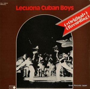 レクォーナ・キューバン・ボーイズ - 懐しのレクォーナ・キューバン・ボーイズ - CUL-1040-E