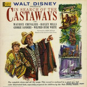 モーリス・シェヴァリエ/ヘイリー・ミルズ - walt disney presents in search of the castaways - ST3916