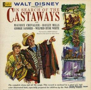 モーリス・シェヴァリエ/ヘイリー・ミルズ - walt disney presents in search of the castaways - ST3916