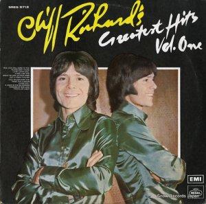 クリフ・リチャード - greatest hits vol.one - SREG9713