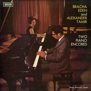 ブラーチャ・イーデン&アレクサンダー・タミール - two piano encores - SXL6484