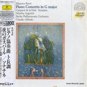 マルタ・アルゲリッチ - ラヴェル:ピアノ協奏曲ト長調 - 18MG4635/419062-1