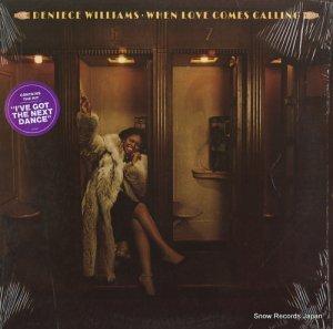 デニース・ウイリアムス - when love comes calling - JC35568