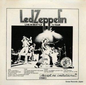 レッド・ツェッペリン - live in seattle 73 tour - TAKRL2964
