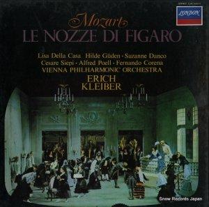 エーリヒ・クライバー - モーツァルト:歌劇「フィガロの結婚」(全曲) - L54C-5043/5