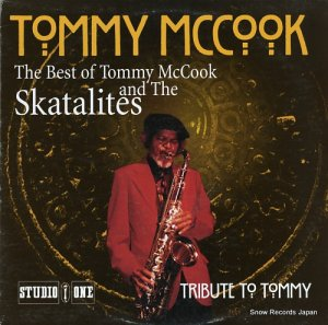 トミー・マクック - the best of tommy mccook and the skatalites - HB216