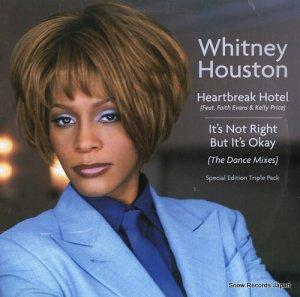 ホイットニー・ヒューストン - heartbreak hotel / it's not right but it's okay (the dance mixes) - 07822-13613-1