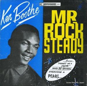 ケン・ブース - mr rock steady - DSRAIDE790
