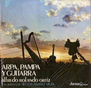 アルフレッド・ロランド・オルティス - arpa, pampa y guitarra - LDF104