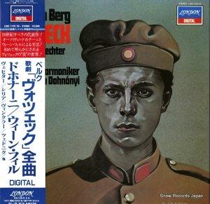 クリストフ・フォン・ドホナーニ - ベルク:歌劇「ヴォツエック」全曲 - L56C1129/30