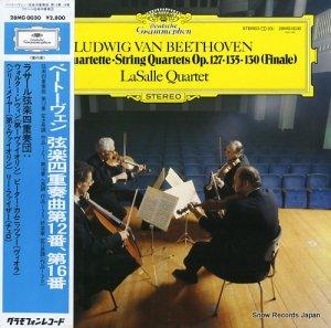 ラサール弦楽四重奏団 - ベートーヴェン:弦楽四重奏曲第12番、第16番 - 28MG0030