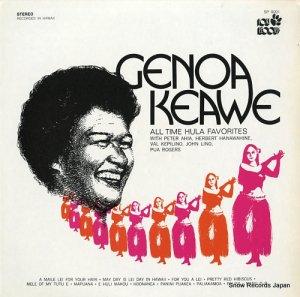 ジェノア・ケアヴェ - all time hula favorites - SP9001