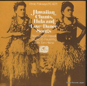 V/A - hawaiian chants, hula and love dance songs - FE4271