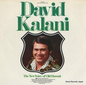 カラニ・デイビッド - the new voice of old hawaii - KRS3233