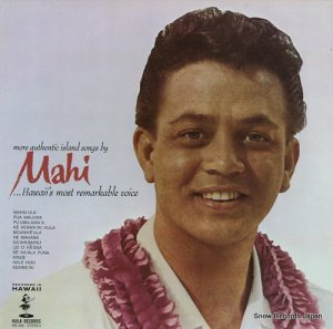 マヒ・ビーマ - more authentic island songs by mahi - HS-406