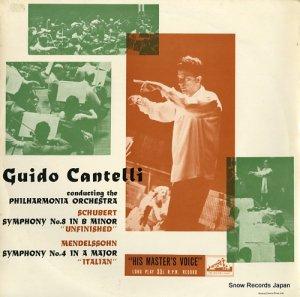 キド・カンテルリ - schubert; symphony no.8 in b minor