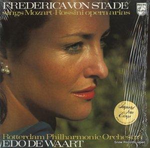 フレデリカ・フォン・シュターデ - sings mozart-rossini opera arias - 9500098