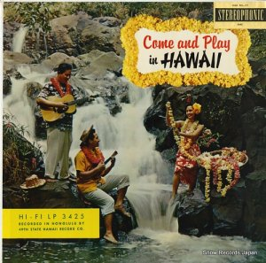 V/A - come and play in hawaii - LP-3425