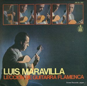 ルイス・マラビーリャ - leccion de guitarra flamenca - HH10-297/HHS10-297
